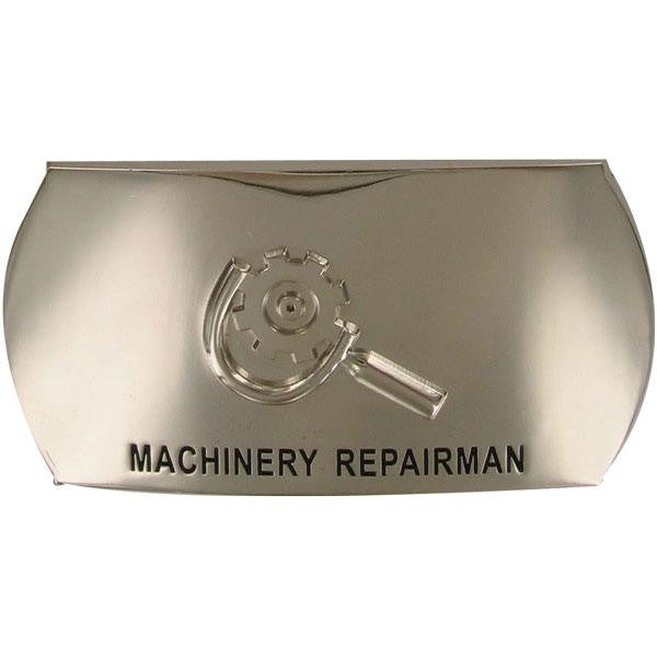 Navy Enlisted Specialty Belt Buckle: Machinery Repairman: MR