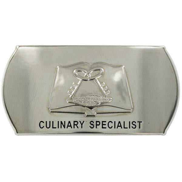 Navy Enlisted Specialty Belt Buckle: Culinary Specialist: CS