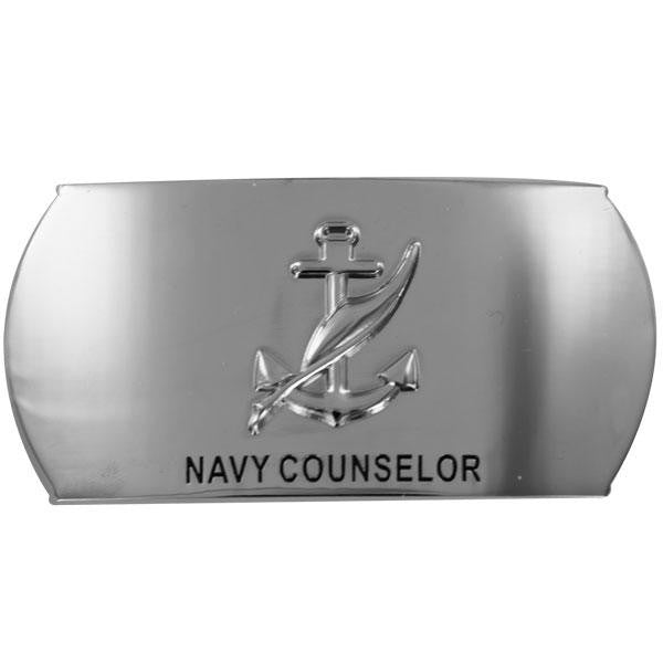 Navy Enlisted Specialty Belt Buckle: Navy Counselor: NC