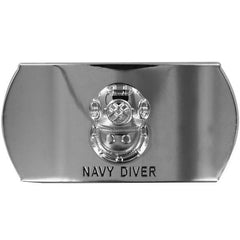 Navy Enlisted Specialty Belt Buckle: Navy Diver: ND