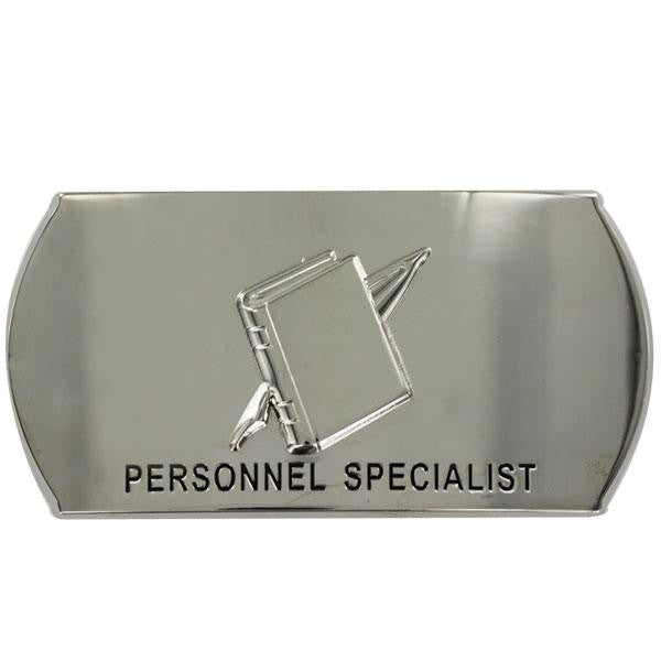 Navy Enlisted Specialty Belt Buckle: Personnel Specialist: PS