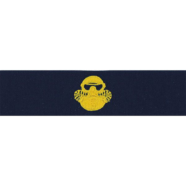Navy Embroidered Badge: Marine Corps Combatant Diver - embroidered on coverall
