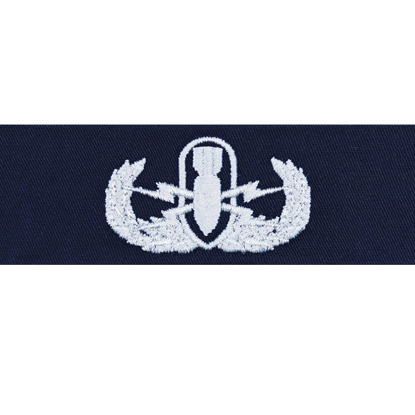 Navy Embroidered Badge: Explosive Ordnance Disposal - coverall