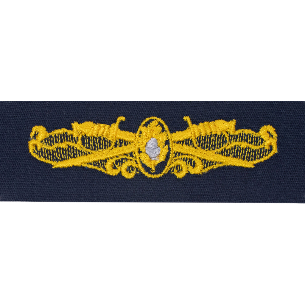 Navy Embroidered Badge: Surface Warfare Medical - coverall