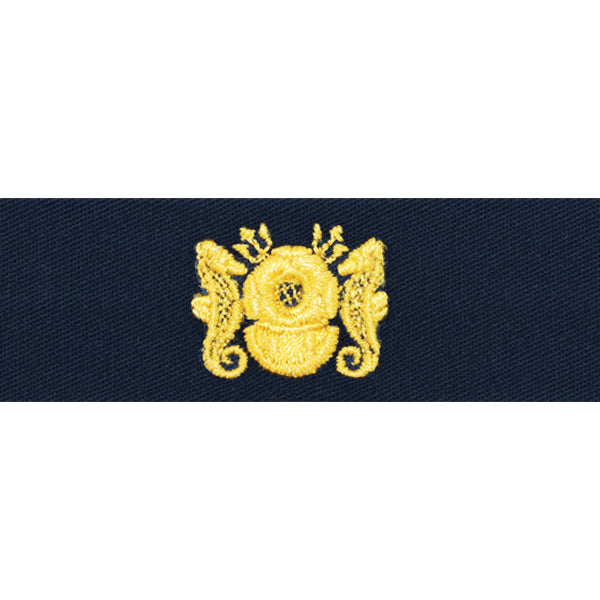 Navy Collar Device: WO Diving Officer - coverall