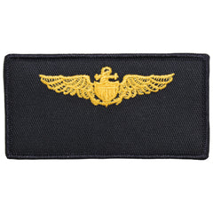 Navy FRV Blank Name-tag: Naval Aviator with Hook