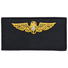 Navy FRV Blank Name-tag: Flight Surgeon with Hook