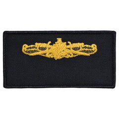 Navy FRV Blank Name-tag: Surface Warfare Supply with Hook