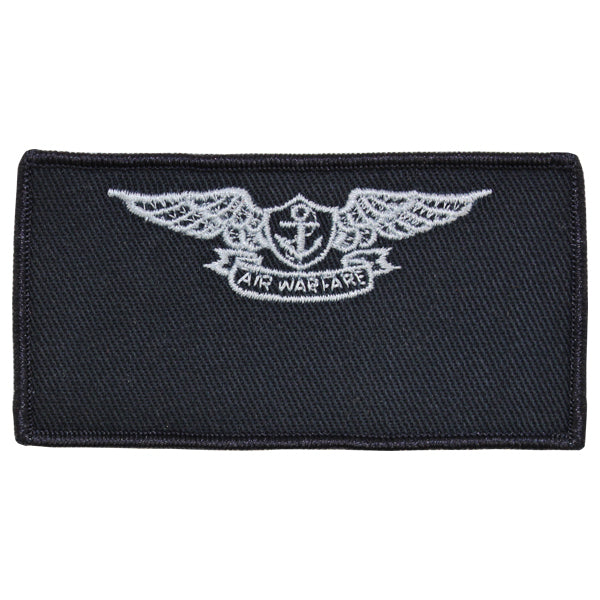 Navy FRV Cloth Blank Name-tag: Aviation Warfare Specialist with Hook