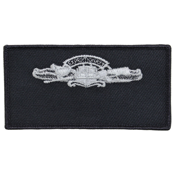 Navy FRV Cloth Blank Name-tag: Expeditionary Warfare Enlisted with Hook