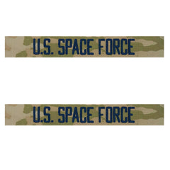 Space Force Tape: U.S. Space Force - embroidered on OCP sew on