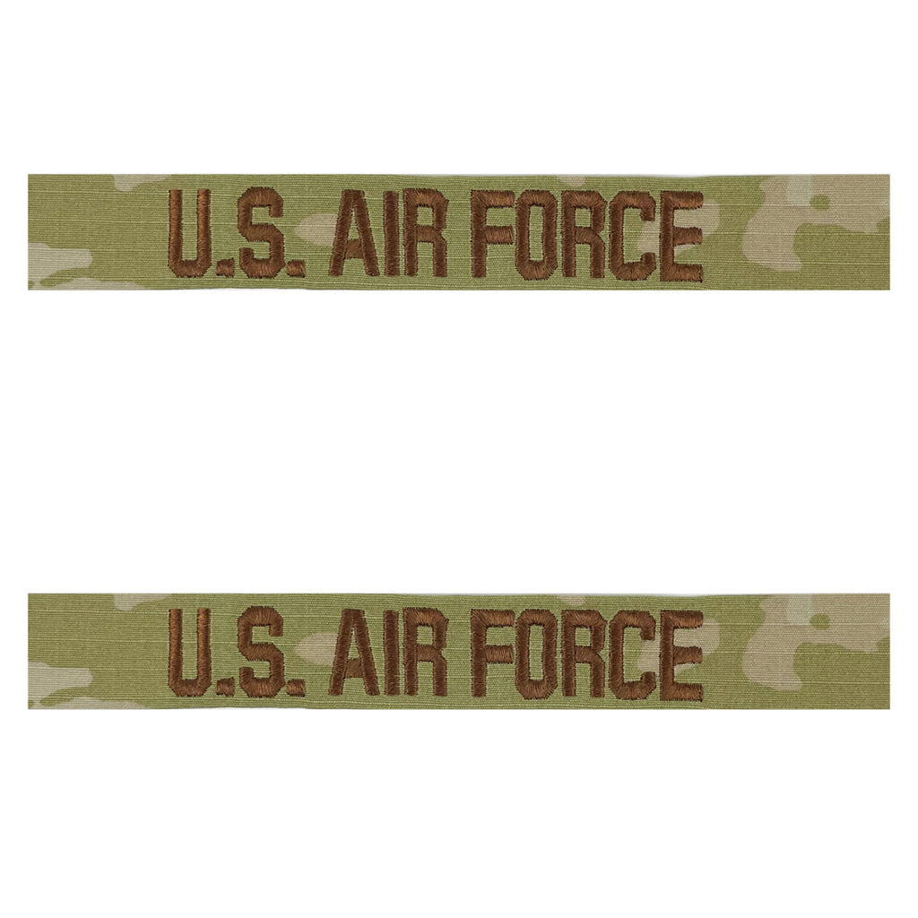 Air Force Tape: U.S. Air Force - embroidered on OCP sew on