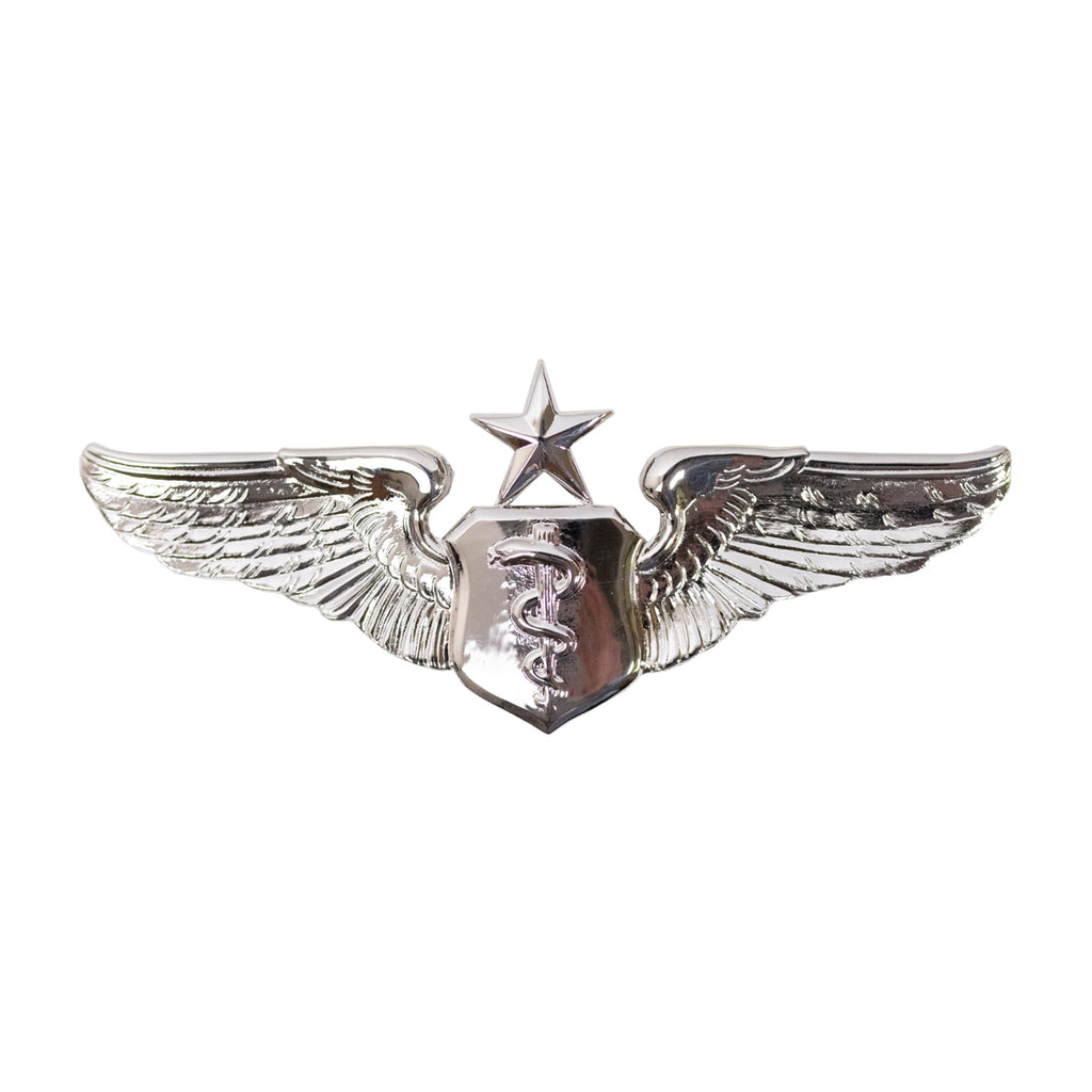 Air Force Badge: Flight Surgeon: Senior - regulation size