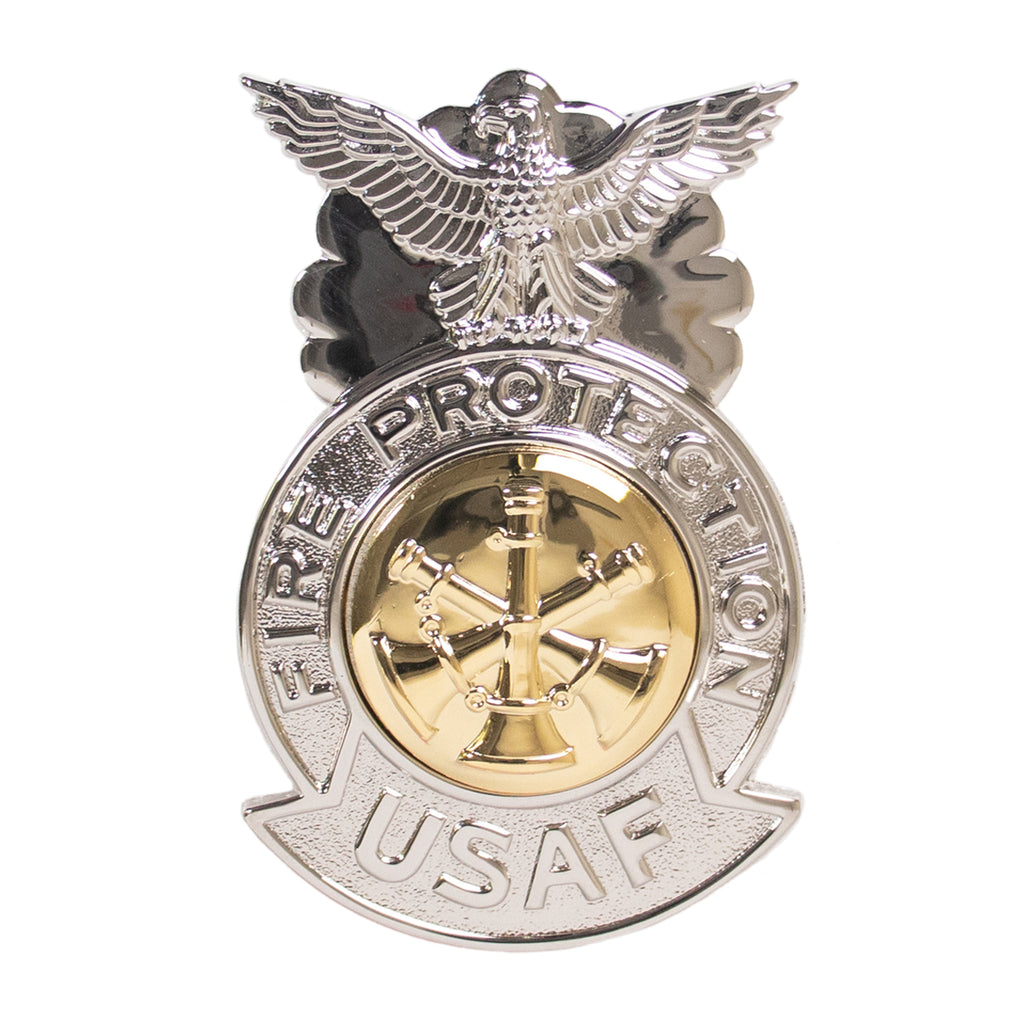 Air Force Badge: Assistant Fire Chief