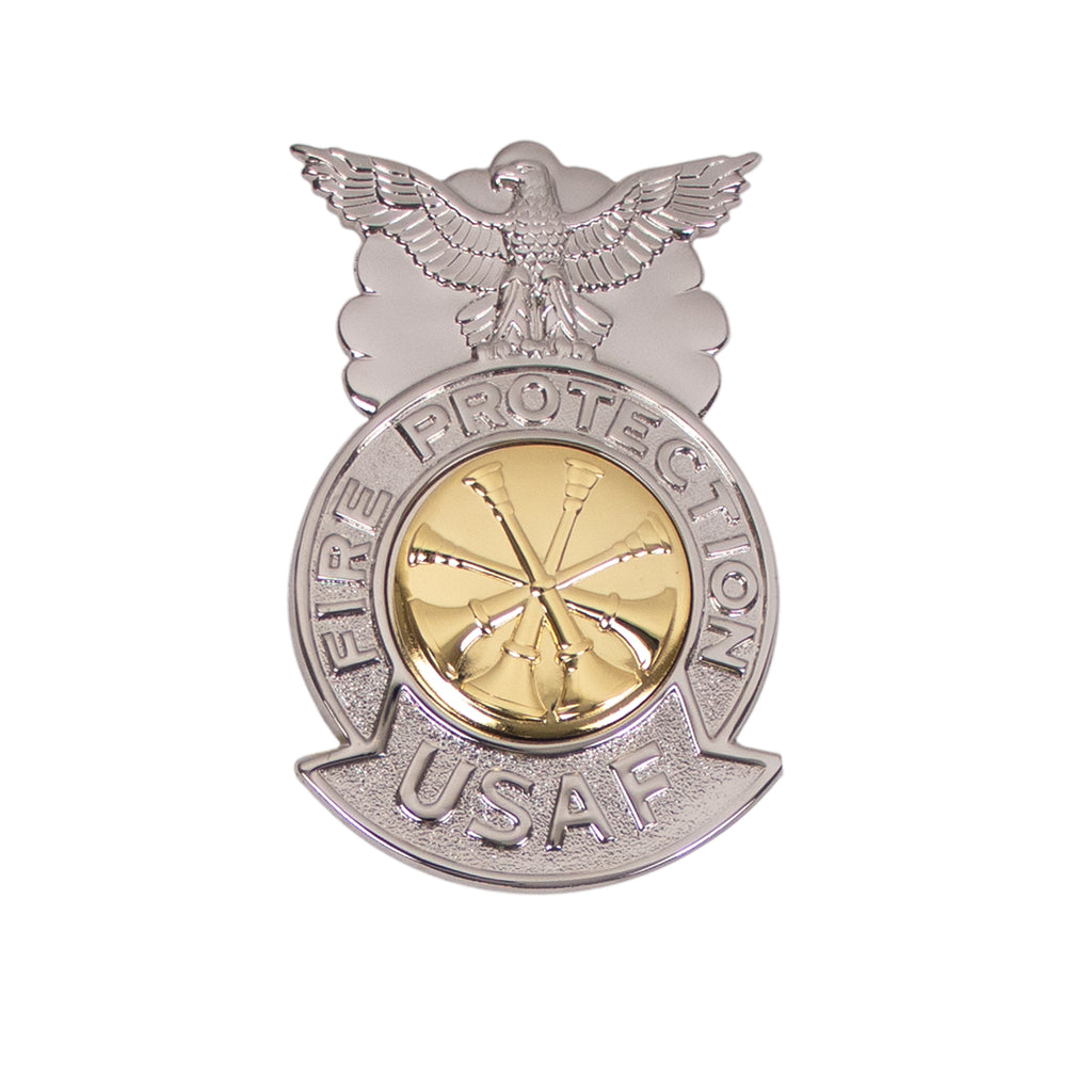 Air Force Badge: Deputy Fire Chief - regulation size