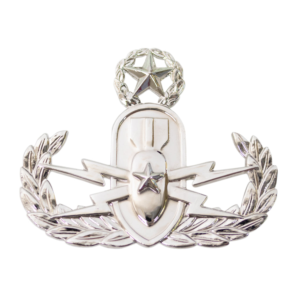 Army Badge: Master Explosive Ordnance Disposal - mirror finish