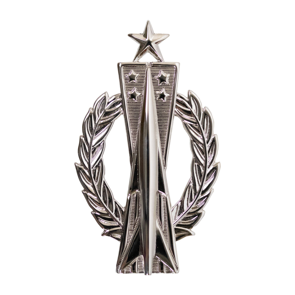 Air Force Badge: Missile Operator: Senior - regulation size