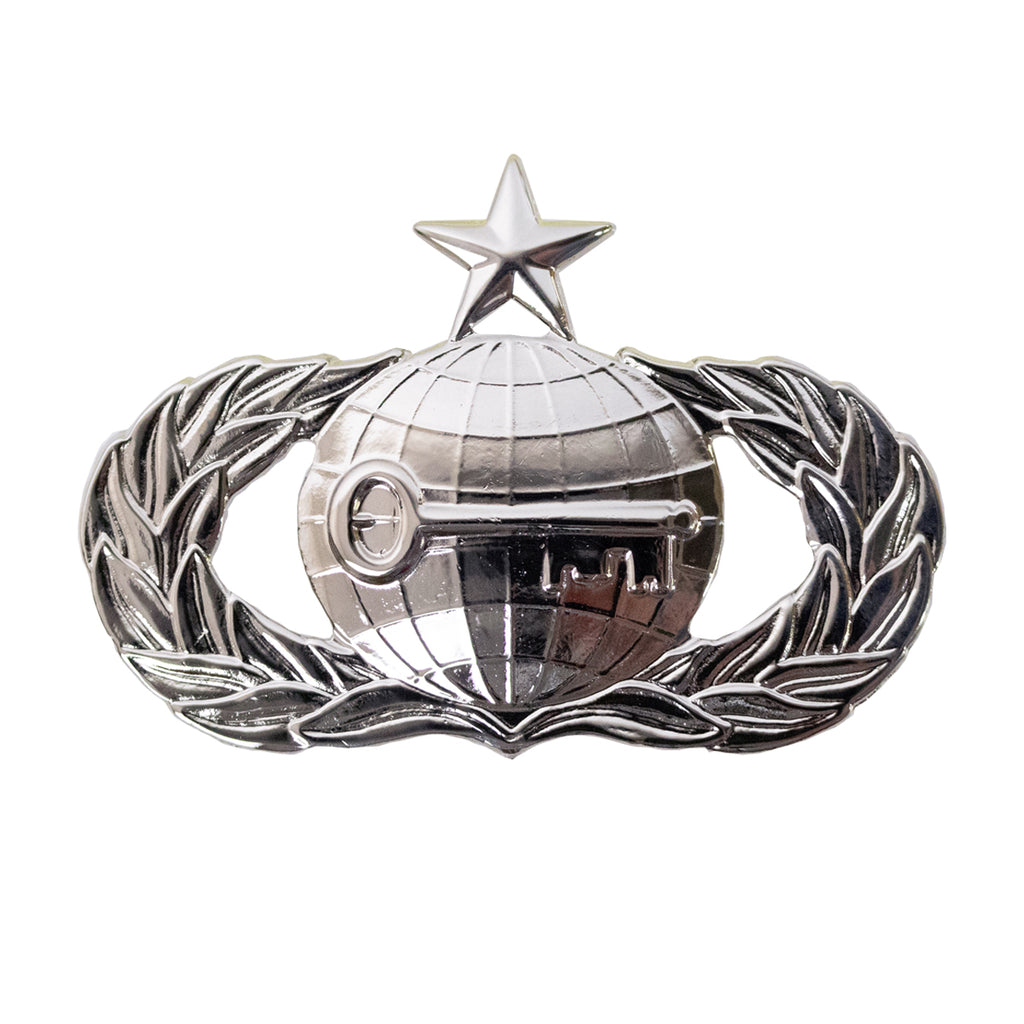 Air Force Badge: Intelligence: Senior - regulation size