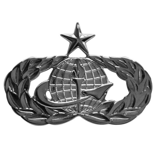 Air Force Badge: Force Support: Senior - regulation size