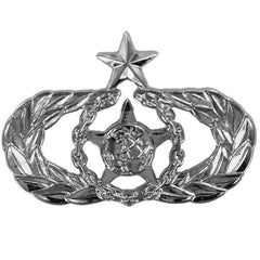 Air Force Badge: Senior Safety - regulation size
