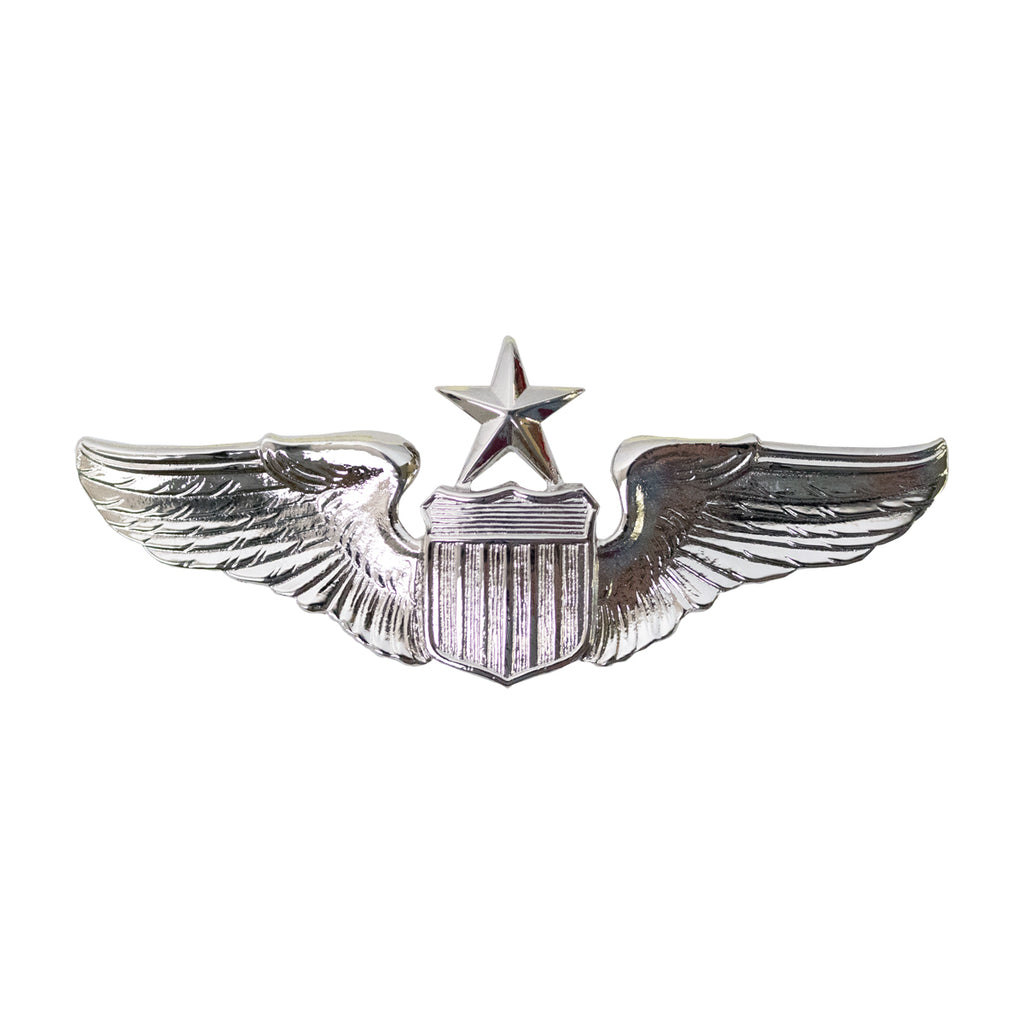 Air Force Badge: Pilot: Senior - miniature