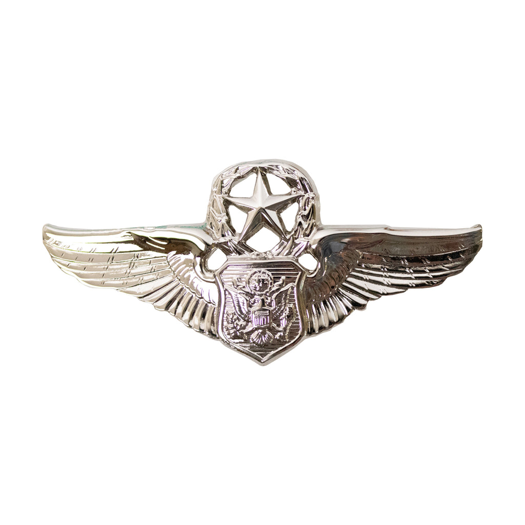 Air Force Badge: Officer Aircrew: Master - miniature