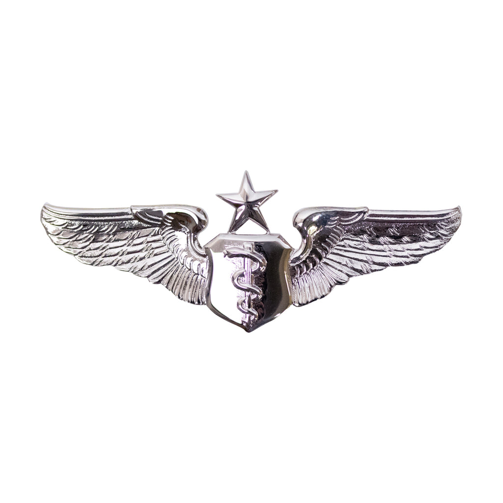 Air Force Badge: Flight Surgeon: Senior - miniature