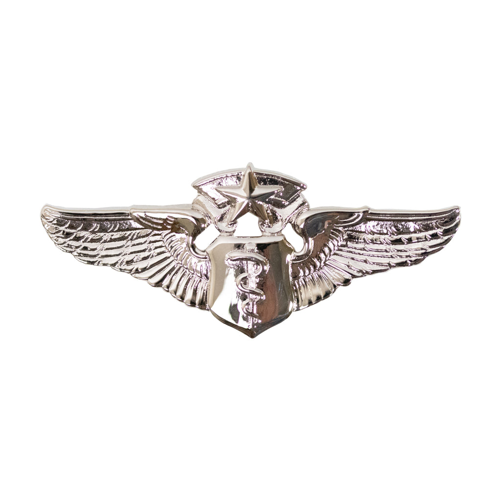 Air Force Badge: Flight Surgeon: Chief - miniature