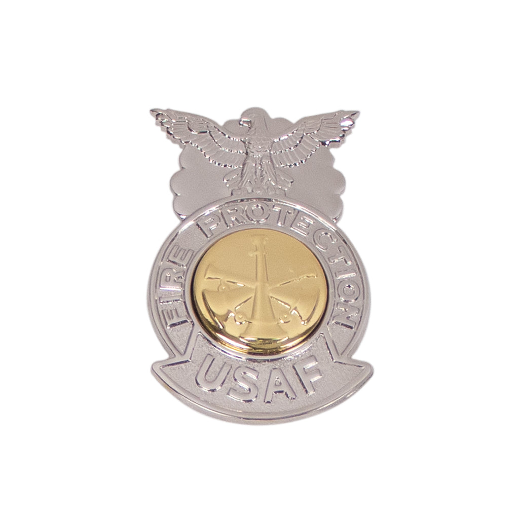 Air Force Badge Fire Protection: Assistant Fire Chief - miniature