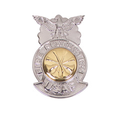 Air Force Badge Fire Protection: Deputy Fire Chief - miniature
