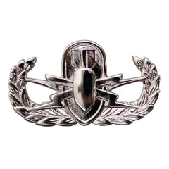 Badge: Explosive Ordnance Disposal - miniature, mirror finish