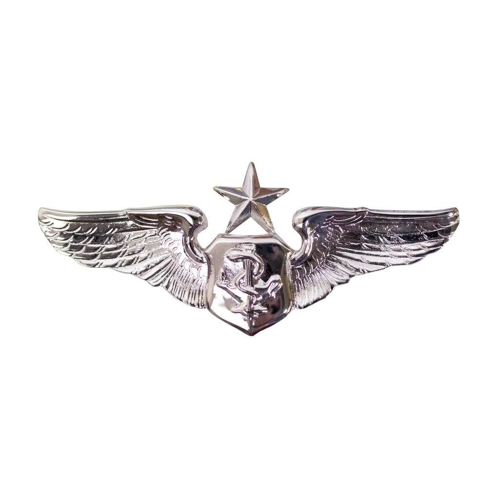 Air Force Badge: Flight Nurse: Senior - miniature