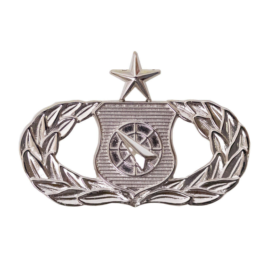 Air Force Badge: Weapons Controller: Senior - midsize