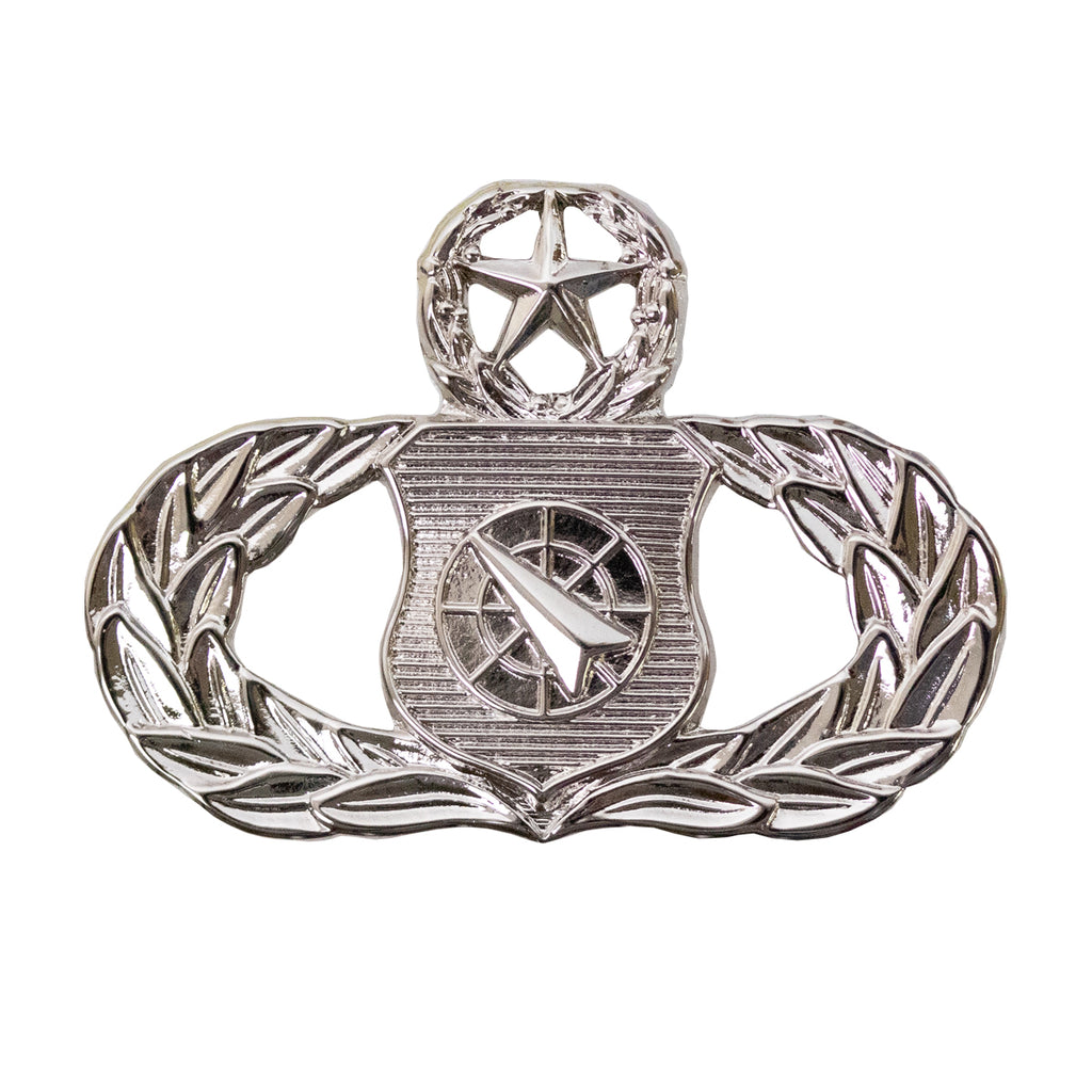 Air Force Badge: Weapons Controller: Master - midsize