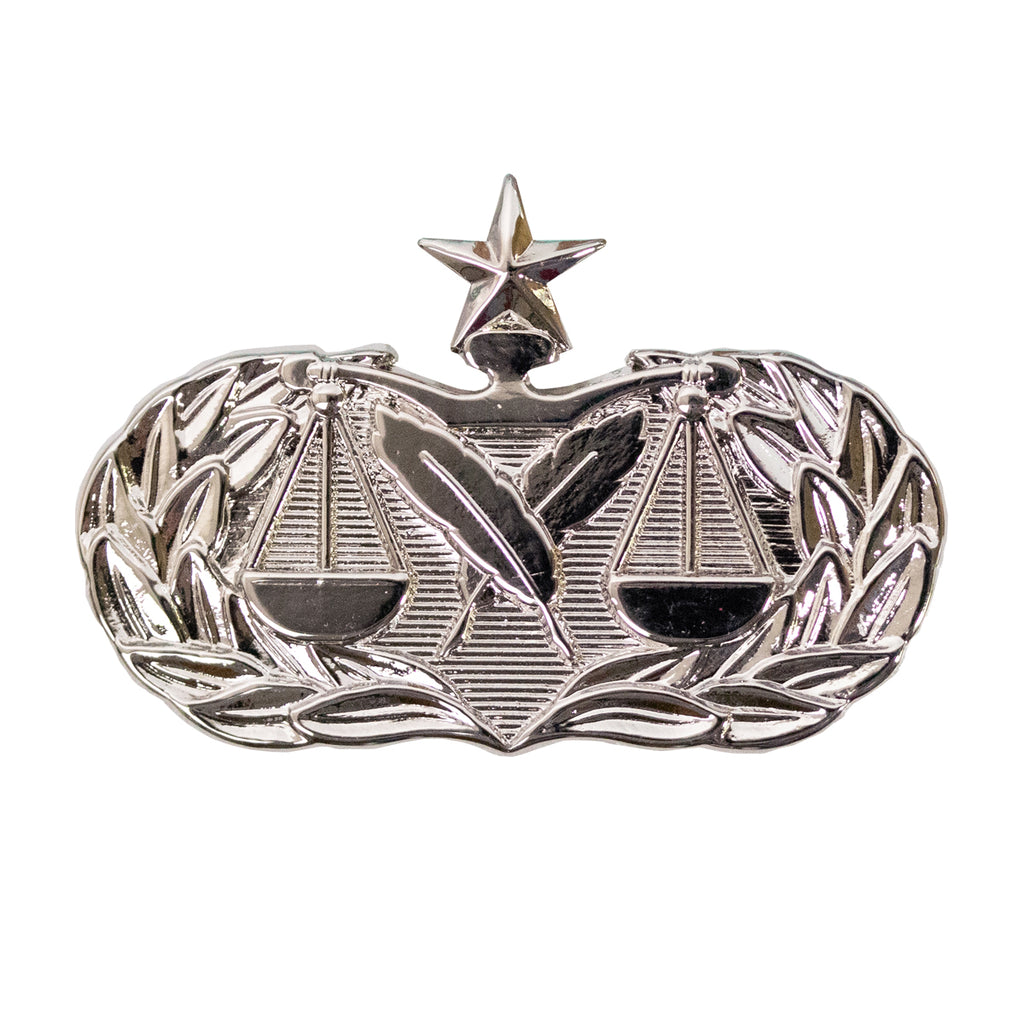 Air Force Badge: Paralegal: Senior - midsize