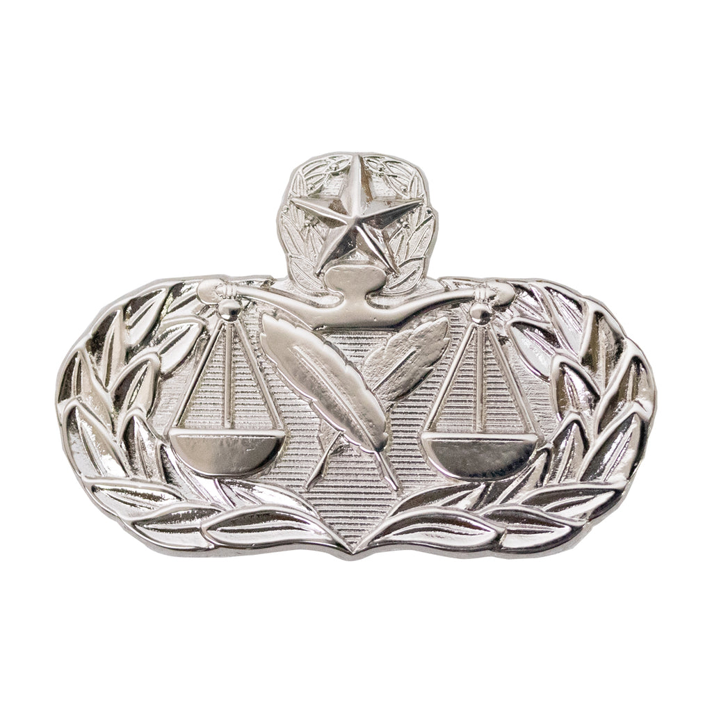 Air Force Badge: Paralegal: Master - midsize