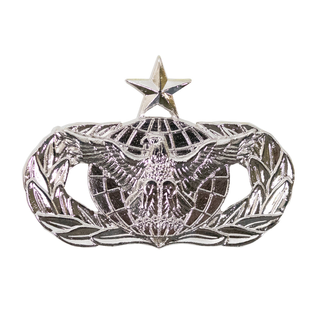 Air Force Badge: Force Protection: Senior - midsize