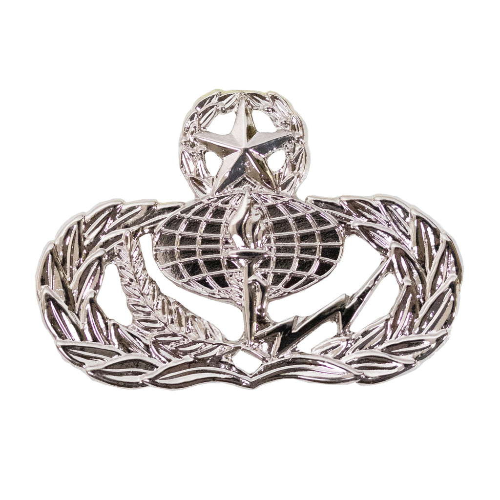 Air Force Badge: Services: Master - midsize