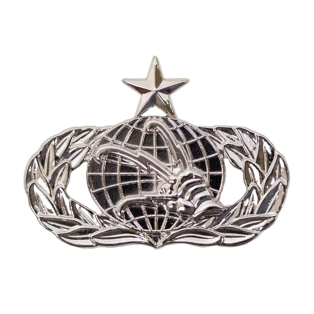 Air Force Badge: Communications: Senior - midsize