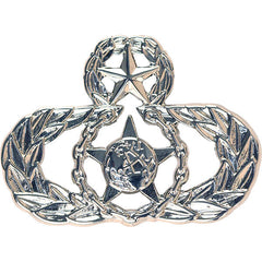 Air Force Badge: Master Safety - midsize