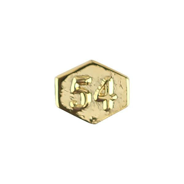 Army Identification Badge Attachment: Director 54 - gold mirror finish