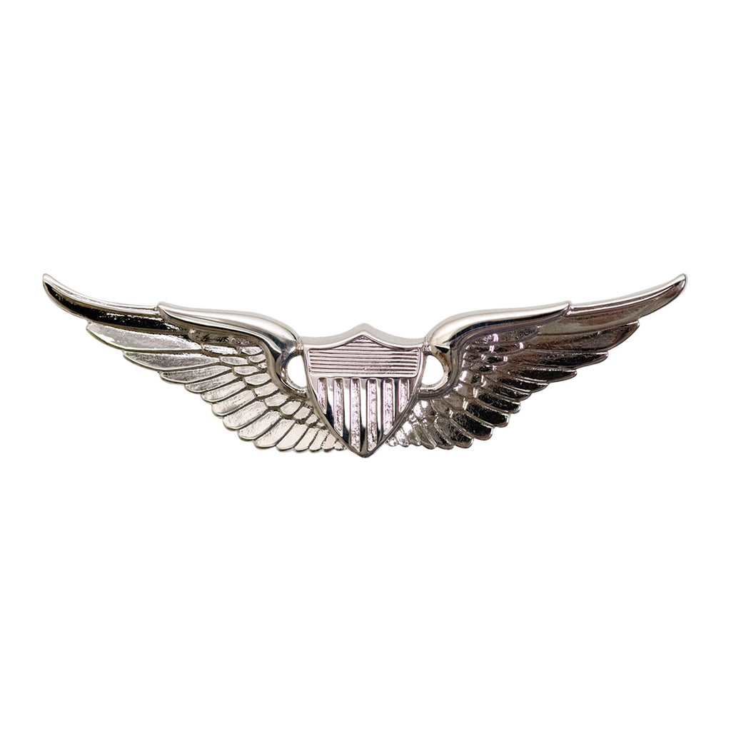 Army Badge: Aviator - regulation size, mirror finish