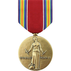 Full Size Medal: WWII Victory