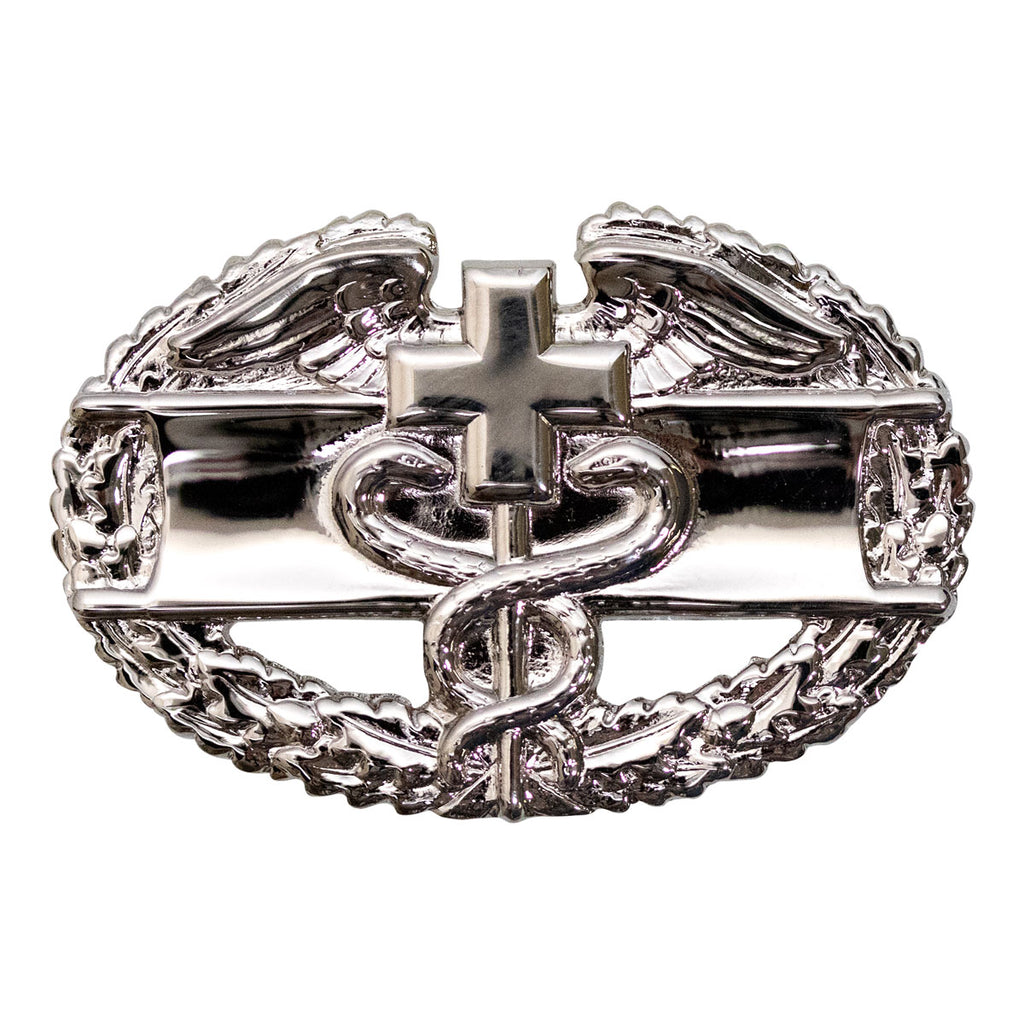 Army Badge: Combat Medical First Award - mirror finish