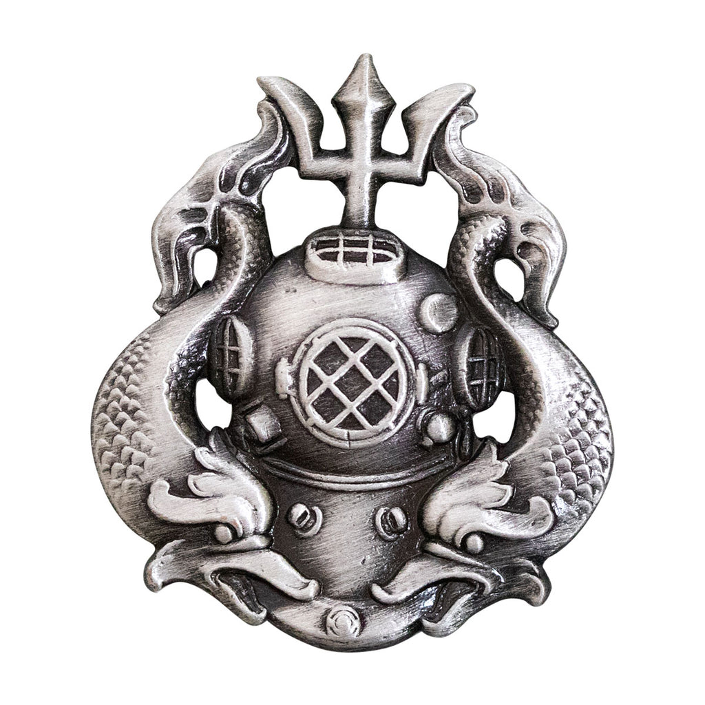 Army Badge: Master Diver - oxidized