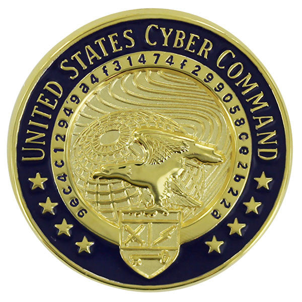 Identification Dress Badge: United States Cyber Command