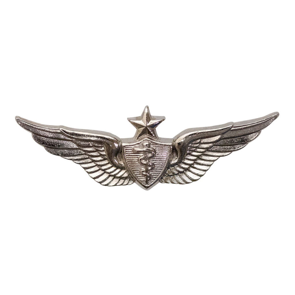 Army Dress Badge: Senior Flight Surgeon - miniature, mirror finish