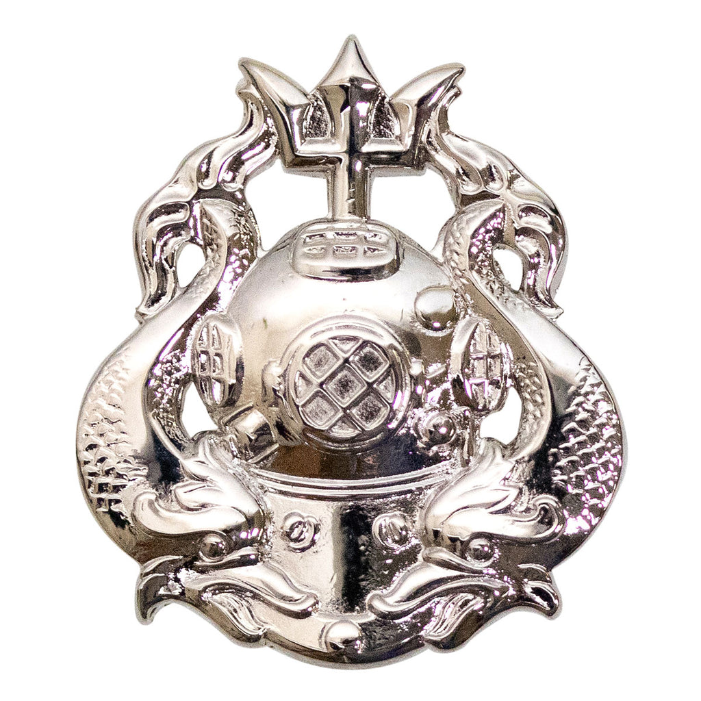 Army Dress Badge: Master Diver - mirror finish