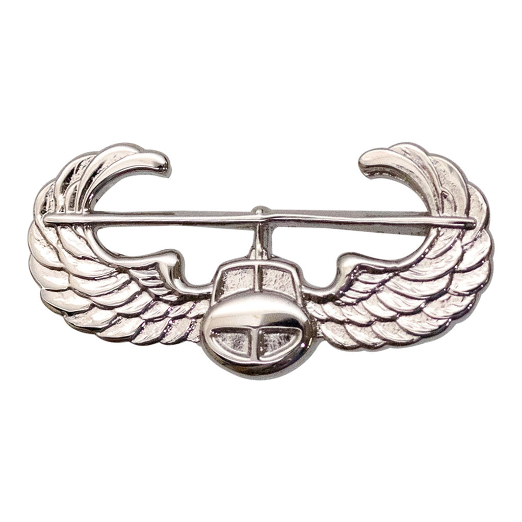 Army Dress Badge: Air Assault - miniature, mirror finish