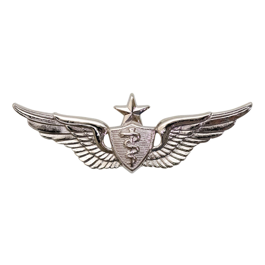 Army Badge: Senior Flight Surgeon - miniature, mirror finish